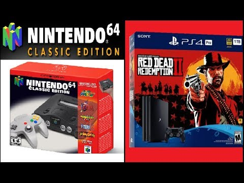 Nintendo 64 Classic is Coming? Red Dead Redemption 2 1TB PlayStation 4 Pro   Sniper Elite III