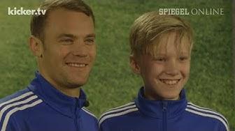"""Kinder löchern Manuel Neuer: """"Wie viel verdienst du eigentlich""""?"""