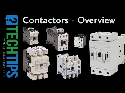Tech Tip: How to Specify Contactors for Industrial Automation