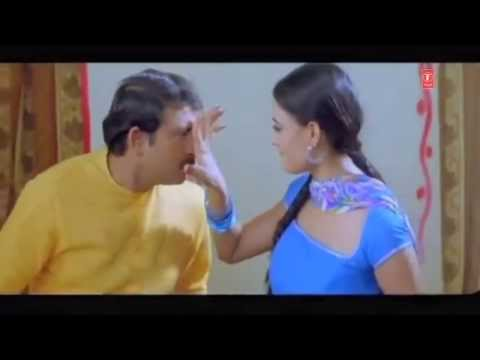 Shweta Tiwari and Manoj Tiwari Scene from Bhojpuri Movie - Ae Bhauji Ke Sister