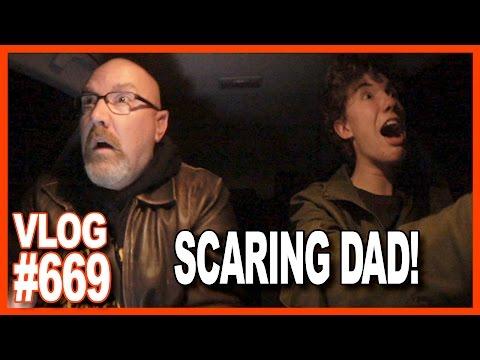 Make a Video, Socks, Voice Over, EPIC Ben Scaring Dad While Driving - Ken's Vlog #669