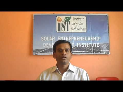 1 KW Solar PV System Installation Training at Institute of Solar Technology