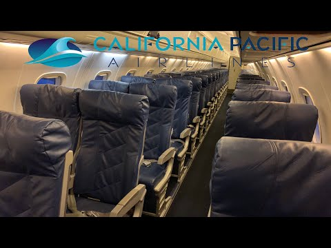 California Pacific Airlines ERJ 145 Review