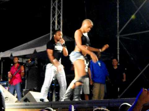 Machel Montano - Bend Over (LIVE).AVI