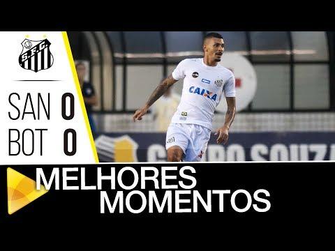 Santos 0 (3) x 0 (1) Botafogo-SP | MELHORES MOMENTOS | Paulistão (21/03/18)