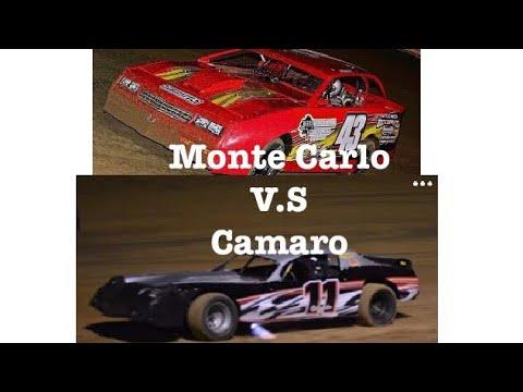 What Wins? Dirt Monte Carlo V.S. Camaro!?! Crowleys Ridge Raceway Glen Francis Cup!