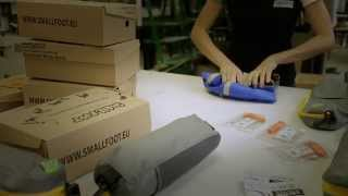 How It's Made : SmallFoot inflatable snowshoes . Thumbnail