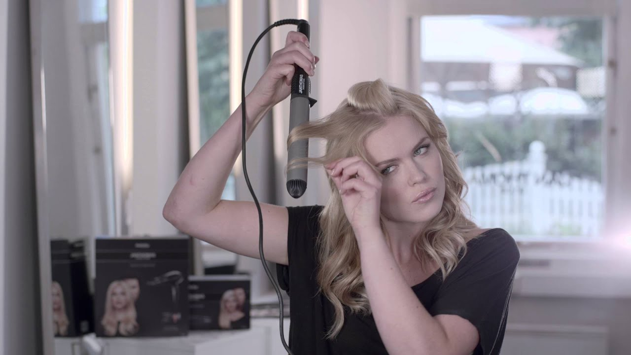 How to  Jan Thomas Studio Styling Tools Curling iron - YouTube c69b99ea2d