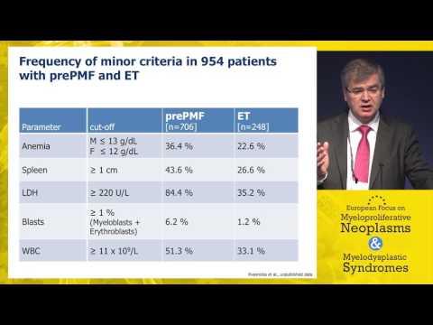 MF marrow morphology: Key takeaways from WHO 2016 diagnostic update