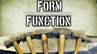 Form Follows Function [Blacksmith Hammer Types]