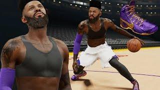 NBA 2k15 MyCAREER Gameplay S2 - Bridges Wearing a Bra?! Shoe Deal, Tattoos, Attributes & Injuries