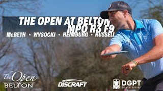 The Open at Belton | Final RD F9 | McBeth, Wysocki, Heimburg, Russell