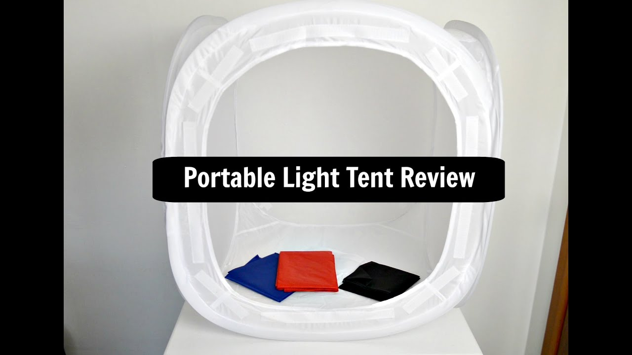 & Photography Light Cube Tent Review (Cndirect US) - YouTube