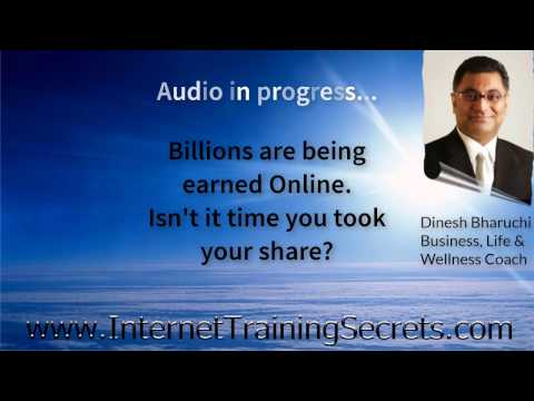 Secrets to online wealth plus Affirmations