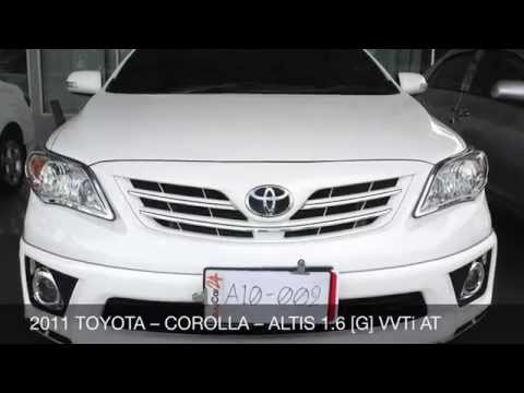 2011 TOYOTA – COROLLA – ALTIS 1.6 [G] VVTi AT