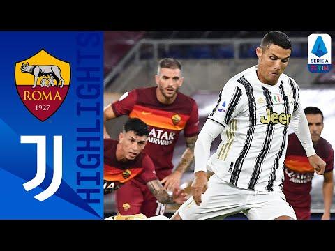 Roma 2-2 Juventus | Doppiette di Veretout e CR7: finisce pari all'Olimpico | Serie A TIM