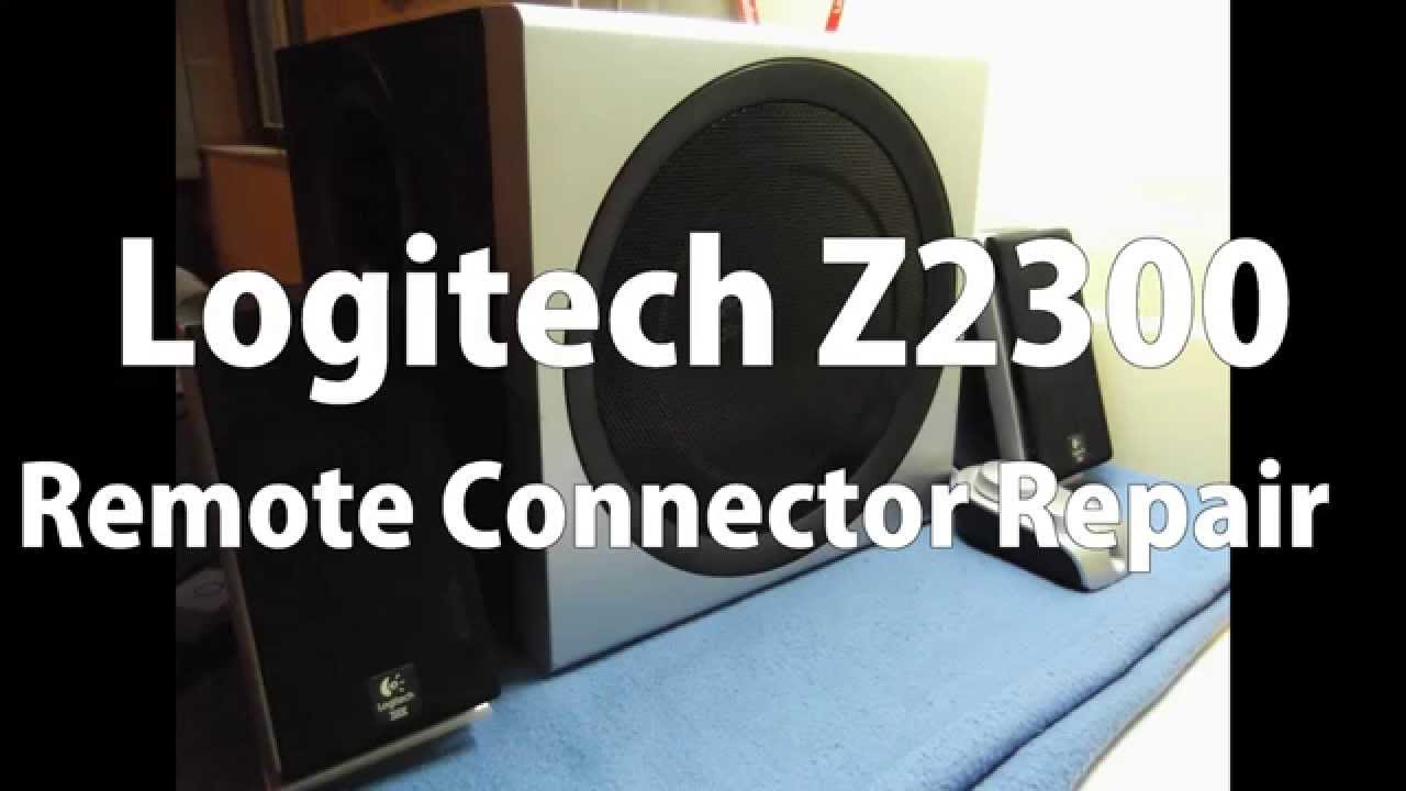 Logitech Z 2300 Circuit Diagram Trusted Wiring Diagrams 640 Z2300 Remote Connector Repair Youtube Sub Only