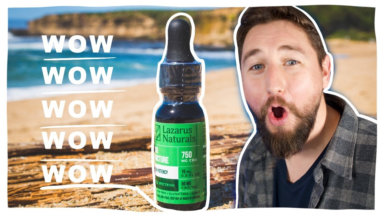 Is Lazarus Naturals REAL? See the LAB TEST and CBD review.