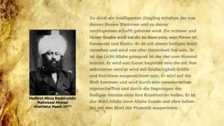 Divine Revelation Concerning Hadhrat Mulseh Maud (ra) (German)