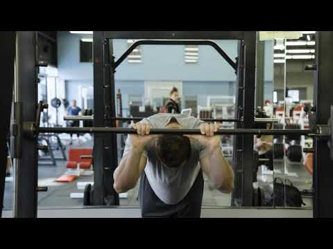 Bodyweight Triceps Extension on Smith Machine