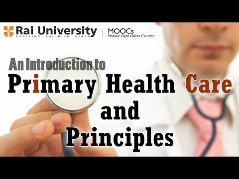 An Introduction to Primary Health Care and Principles - Public Health