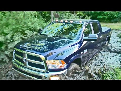 OFFROAD: 2017 RAM 2500 4x4 Off-road Package | Mega Cab Pickup Truck