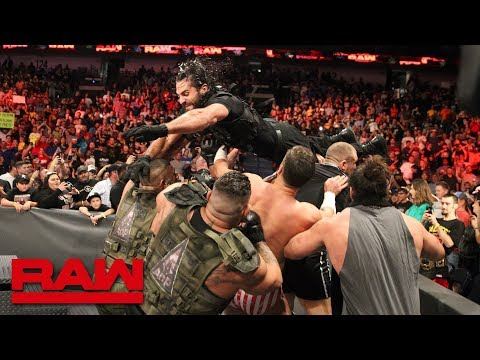 The Shield strike back at their attackers: Raw, Sept. 10, 2018