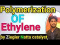 Ziegler Natta Polymerization of Ethylene |Mechanism of Ziegler Natta catalyst| video in urdu | Hindi