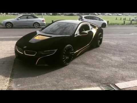 bmw i8 matte black price. Velvet And Gold I8 BMW Bmw Matte Black Price