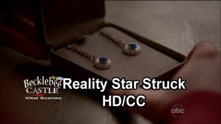 "Castle 5x14 ""reality Star Struck""  The Better Gift   (hd/cc)"