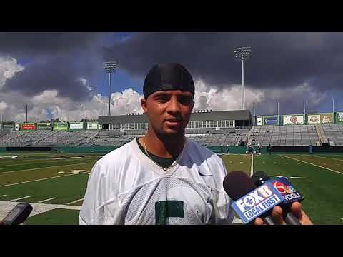 Terren Encalade talks about Tulane's desire for more headed into bye week
