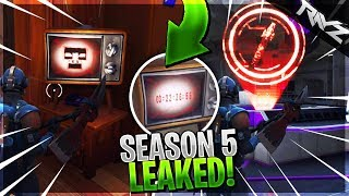 FORNITE ACCIDENTALLY LEAKED SEASON 5... (Fortnite Battle Royale HUGE Season 5 Leak)