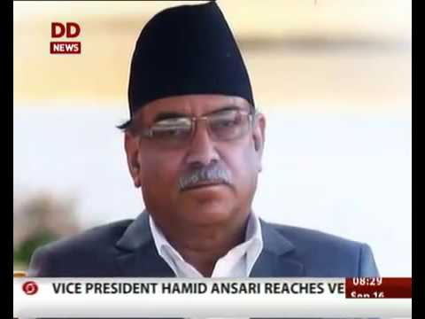 PM PRACHANDA INTERVIEW IN INDIAN TELEVISION
