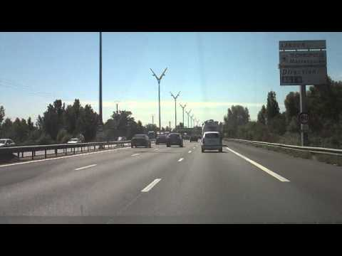 French Highways : Ploermel - Toulouse (Timelapse)