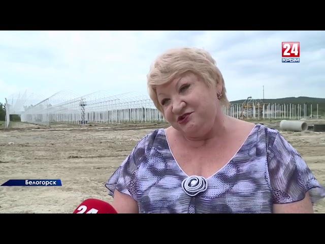 Рабочая поездка в Белогорский район