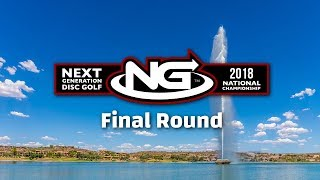 2018 Next Gen Disc Golf Tour - Final Round