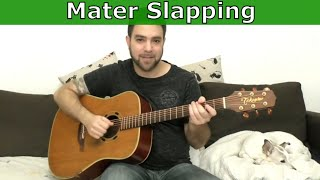 Lesson: How to Master Slapping While Playing Fingerstyle - 10 Exercises - Guitar Tutorial