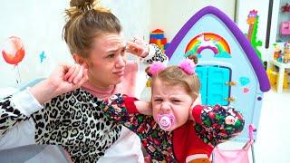 Las mamás organizaron concursos, divertidos juegos activos para niños