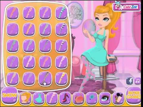 Бесплатные игры онлайн  Макияж дома, игра для девочек, макияж, одевалка  game for girls, makeup