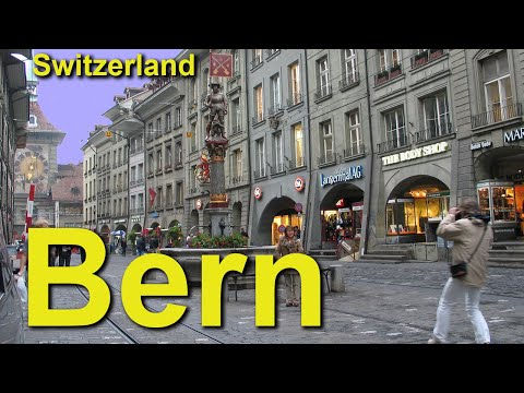 Bern, Switzerland's Picturesque Arcade City