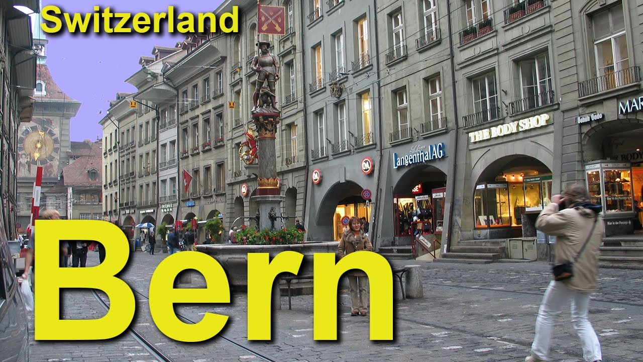 Bern, Switzerland's Picturesque Arcade City