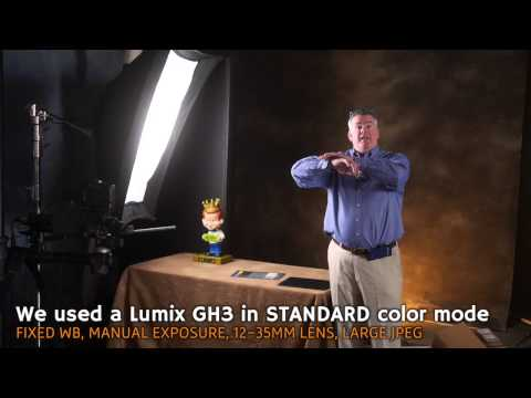 Q: How do you dial in the color on LED panels for portraits?