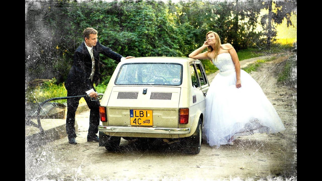 Świeże Plener ślubny Janów Podlaski Fiat 126p (jakość HD ID51