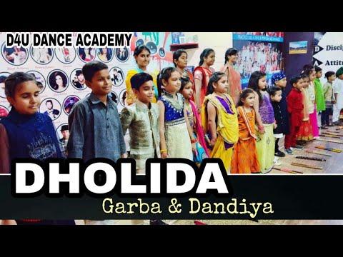 Dandiya and Garba  Dholda  Loveyatri  D4U DANCE ACADEMY  Amritsar  Punjab  Bollywood Song