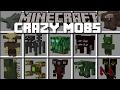 Minecraft WEIRD MOBS MOD / LAB EXPERIMENT GONE WRONG!! Minecraft