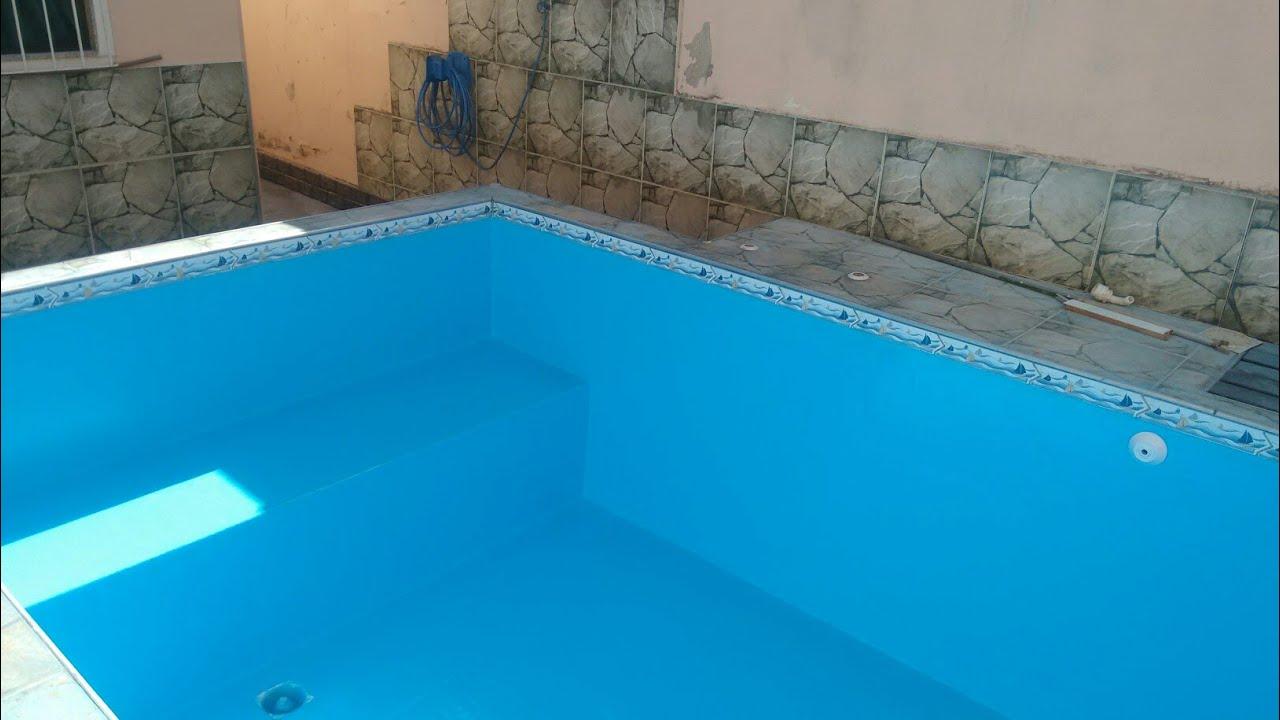 Transforme uma piscinas de azulejos ou alvenaria em uma piscina equipe mmpiscinas youtube - Toboganes para piscinas baratos ...