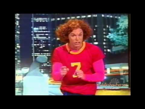 CARROT TOP BRINGS MORE PROPS on 'LENO'