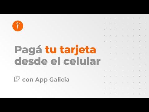 #Tutorial Pago de Tarjetas con la App Galicia