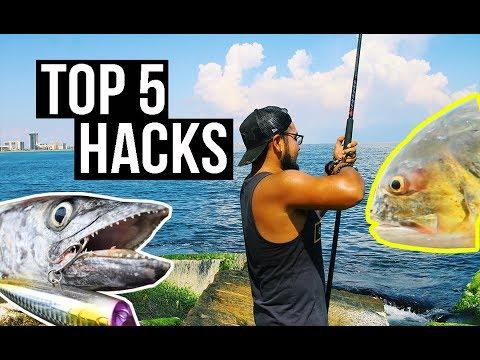Top 5 Saltwater Fishing Tips | Jetty Fishing