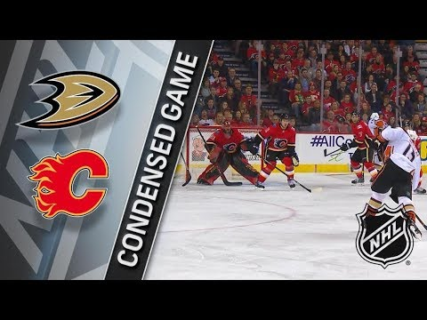 Anaheim Ducks vs Calgary Flames – Jan. 06, 2018 | Game Highlights | NHL 2017/18. Обзор матча